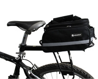 free shipping bicycle rear rack extensible waterproof seat bag