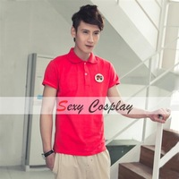 2013 Fashion Cotton Lapel Short Sleeve Polo T Shirts Men Polo Shirts