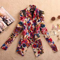 2013 women's spring outerwear fancy suit shoulder skin one button slim casual blazer