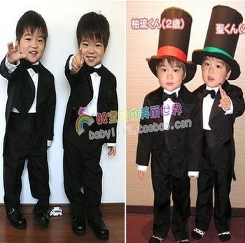 Retail 1 pcs 2013 New Design Children clothing set  suit boy kids suits blazers wedding wear CC0176