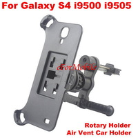 2013 New Rotary Air Vent Car Holder Mobile Phone Holder Cell Phone Holder  For Samsung Galaxy S4 i9500 i9505