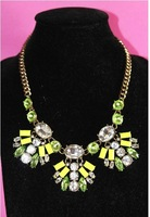 2013 new perfume statement  choker Collar Necklace new  crystal flower necklace collars for women jewelry fashion   XK608-16