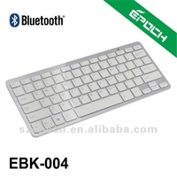 English version and Free shipping!! Ultrathin Wireless Bluetooth Keyboard for PC Macbook Mac ipad 2, the new ipad 3 White