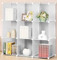 Diy storage rack multifunctional storage cabinet combination frame wardrobe combination board