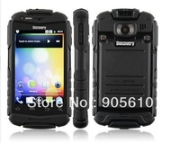 Discovery V5 Shockproof Dustproof Android2.3.5 cell Phone 3.5 Inch Capacitive Screen MTK6515 1.0GHz WiFi Black Yellow Orange