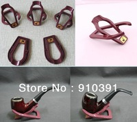Free shipping,concise smoking pipe stand pipe holder as tobacco pipe accessories.