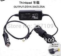 20V 4.5A / 3.25A DC Power Car Charger For thinkpad X230i X200 X201 X220 T500 510 520 T430u 400 E40 50 X60 X61 E430C E530 S230u