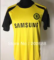 2013-14 new arrived top quality chelsea goalkeeper soccer uniform,goalkeeper uniform set.