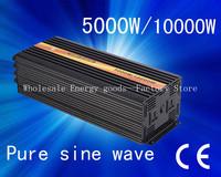 5000W (MAX 10000W)Pure Sine Wave Home Inverter DC 24V to AC 240V, Solar Invertor(CTP-5000W)