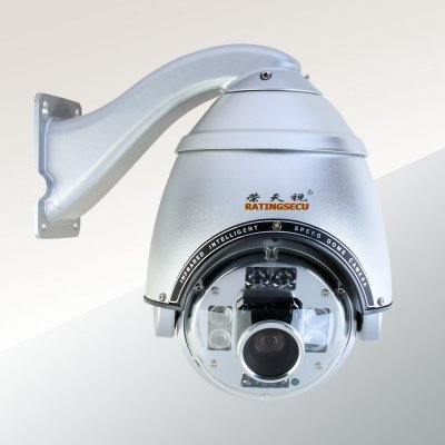 360 degree continuously rotation 23X high speed dome ptz camera 130m outdoor manufacture(China (Mainland))