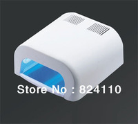 2013 Newest  free shipping promotion PVC Hot sales 36W nail uv lamp with 120s and 180s automatic timer