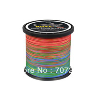 Hot! Super Boat 8 Weave colorful Braid Fishing Line MX 330yds  40lb