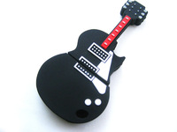 Free shipping Small Guitar USB flash drive 1GB 2GB 4GB 8GB 16GB 32GB Memory stick pen drive