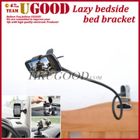 Hot Selling Universal Car Holder Desktop bed lazy bracket Kit Holder mobile Stand For iphone Samsung Phone with free Car Sucker