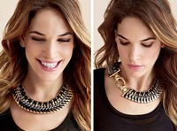 Recommond Design hot brand fashion knitting wide choker necklace
