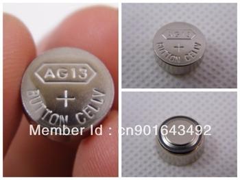 10PCS 1.5V LR44 A76 L1154 AG13 357 SR44 303 SG13 Button Cell Coin BATTERY