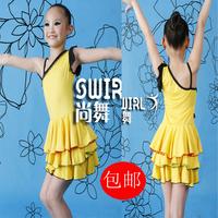 Nagle Latin dance skirt child Latin dance clothes nagle Latin dance competition clothing performance wear