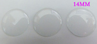 14MM Round Clear Resin Epoxy Sticker for Pendant tray accessories/free shipping