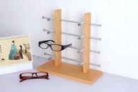 2013 I-bright Double Row 8pcs glasses display sunglasses display stand glasses frame rack Free shipping