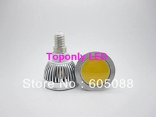 e14 led cob spot lamp bulb 3w white colour 250 280lm 2 year warranty 100pcs lot