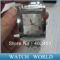 HK Free Shipping Mens watches BU1550  BU1551  BU1555 men square Heritage Collection Stainless Steel+ original box