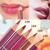 Slender lipliner lipstick lip pencil painting chromophous lasting