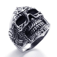 Punk rock accessories stainless steel ring accessories 171002102084 titanium ring