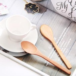 Wood spoon eco-friendly spoon coffee spoon(China (Mainland))