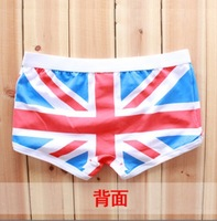 UK new hot Sexy Trouser Cotton Cartoon  Mens  men Underwear boxer shorts British  National flag size L- XL