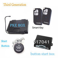 anti-theft RFID car thinkbox start/ PKE car alarm engine ignition starter/keyless go system passive car alarm system