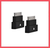 30 pin Dock Extender Extension Adapter Male to Female For Apple iPhone 4 4S iPad iPod free shipping