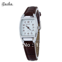 Ijacka vintage lady brief barrel-type quartz watch women's watch 5127