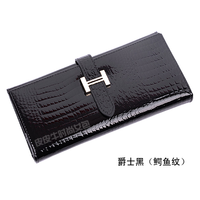 Fashion fashion genuine leather wallet women's design cowhide long wallet