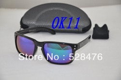 Wholesale Authentic OK Holbrook Cycling Bicycle Bike Outdoor Sports Sun Glasses Eyewear Goggle Sunglasses 2 PCS / 1 package(China (Mainland))