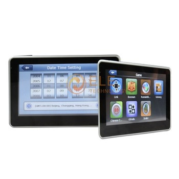 Free Shipping New 4.3'' GPS 4GB Car Gps Navigation(China (Mainland))