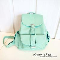 candy color student school bag backpack summer women's backpack handbag