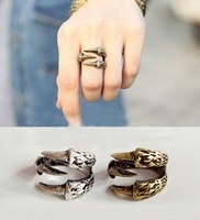 Fashion small accessories vintage trachypenaeus finger ring quality ring female