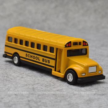 Alloy car models artificial car model toy school bus big bus