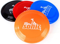 Free Shipping Wholesale 50pcs/lot 23cm Plastic  Frisbee Flying Disk Plate Disc for traning Dog Mix colors