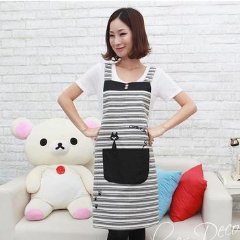 [20pcs/free ship] Fashion aprons 160g  Domestic apron cotton Cloth aprons cotton supplier