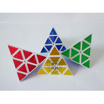 Good choice for child Hot-selling pyramid intelligence  pyramid magic cube