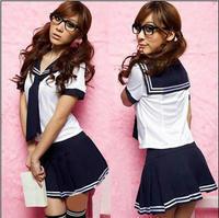 Women's japanese style long tie school wear lourie bar uniforms cosplay