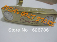 """Left handed golf clubs california monterey Golf putter.33""""or""""34""""or""""35""""lengths with headcover Free Shipping"""