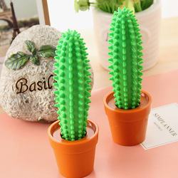 The appendtiff stationery cactus pen bonsai fashion ballpoint pen supplies desk pen(China (Mainland))