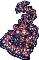 Perpetuals silk georgette silk scarf