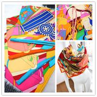 H bags silk cashmere scarf cape 4