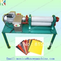 High quality 86*450mm Electrical  beeswax foundation machine