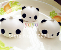 New Lovely Cartoon Panda Head Squishy Phone Charm / Bag Charm/Free Shipping