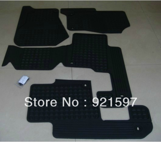 auto parts replacement for Discovery 3,4 2010+ original style rubber floor mats(China (Mainland))