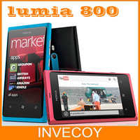 "Lumia 800 Unlocked Original Nokia Lumia 800 mobile phone windows 7.5 16gb storage 3G GPS WIFI 3.7"" touchscreen 8MP freeship"
